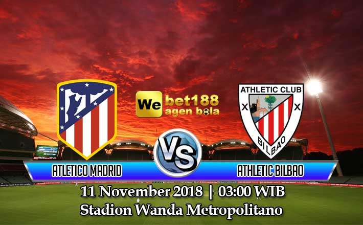 Prediksi Bola Atletico Madrid vs Athletic Bilbao 11 November 2018