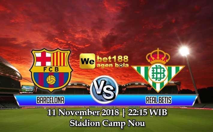 Prediksi Bola Barcelona vs Real Betis 11 November 2018