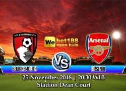 Prediksi Bola Bournemouth vs Arsenal 25 November 2018
