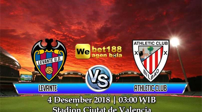 Prediksi Bola Levante Vs Athletic Club 4 Desember 2018