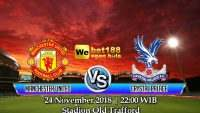 Prediksi Bola Manchester United Vs Crystal Palace 24 November 2018