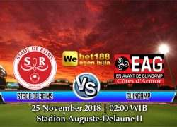 Prediksi Bola Stade de Reims vs Guingamp 25 November 2018
