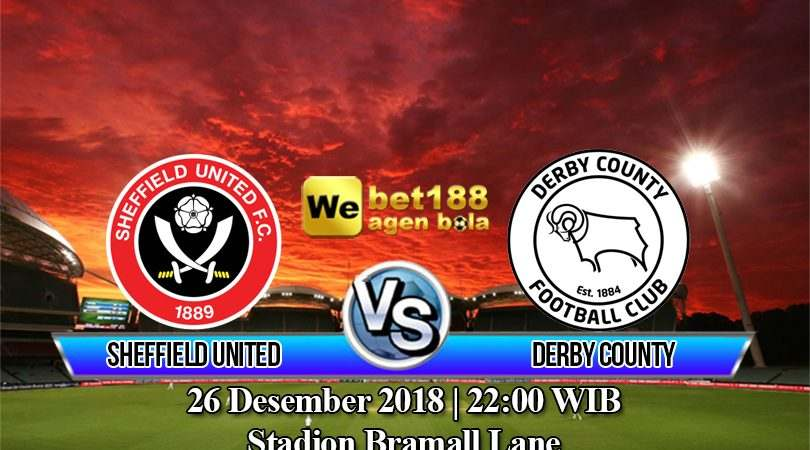 Prediksi Bola Sheffield United vs Derby County 26 Desember 2018