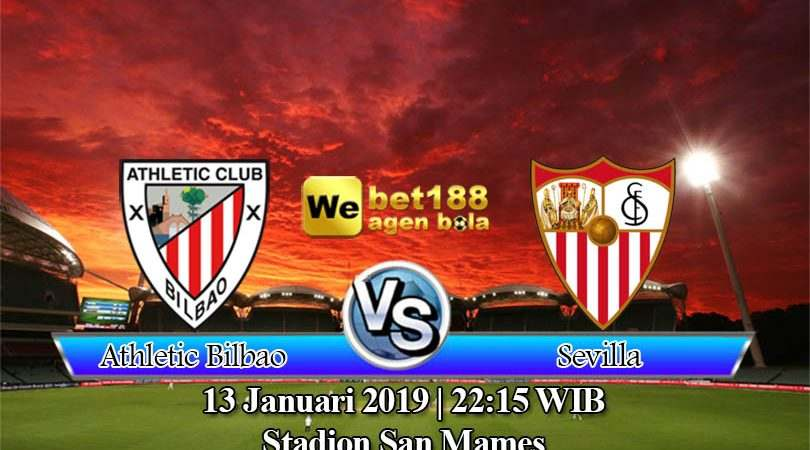 Prediksi Bola Athletic Bilbao vs Sevilla 13 Januari 2019