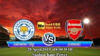 Prediksi Bola Leicester City vs Arsenal 28 April 2019