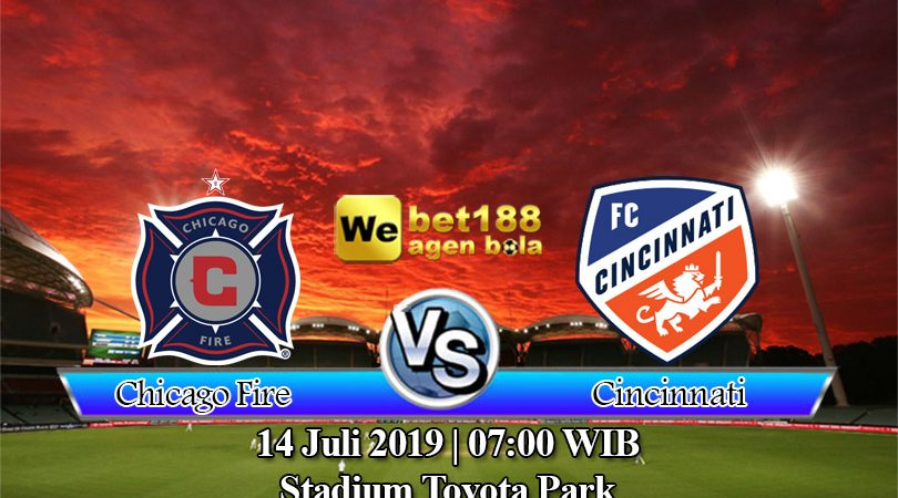 Prediksi Bola Chicago Fire vs Cincinnati 14 Juli 2019